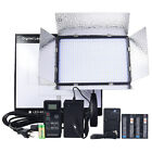 DSTE LED-600AS Studio Video LED  Light +2x NP-F970/F950 Battery