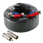 ANNKE 1x 30M 100FT BNC DC Video Power Cable Connector Wire Camera Extension Cord