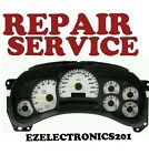 2003 to 2004  OLDSMOBILE SILHOUETTE Instrument Cluster Repair Service