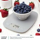 Kitchen Scale Digital Display Weight Gram Ounce Food Compact Multifunction Bakin