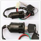 New Off Road Motorcycle 4 wire Ignition Switch & Lock with key Chinese ATV @BT