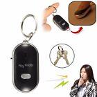 Mini LED Key Finder Locator Find Lost Keys Chain Keychain Whistle Sound Control