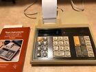 TEXAS INSTRUMENTS TI-5040 ELECTRONIC CALCULATOR  w/original manual