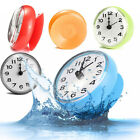 1* Suction Battery-powered Waterproof Wall Clock Watch Living Modern Kitchen