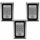3pcs Home Door Access Control Entry System Luminous keyboard LED Backlight Metal