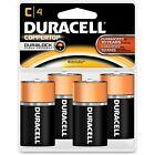 Duracell Alkaline Battery Size C 4/PK MN1400R4ZX