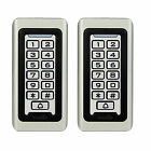 2pcs Waterproof Keypad Standalone Access Control Home Door Entry Controller US