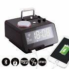 Homtime C12-PRO Alarm Clock, USB Clock with Lightning Connector, 5 Modes To Play