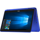 """NEW DELL Inspiron 11.6"""" Touch Laptop Intel Pentium N3710 1.6GHz 4Gb 500GB WS 10"""