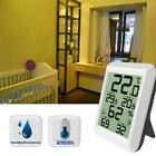 1xDigital LCD Thermometer Indoor Hygrometer Temperature Humidity Meter Monitor