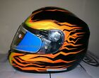 HJC CS-R2 Frameless Electric w/ Balaclava Snowmobile Helmet Flame XS S M L XL 2X