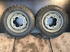 VW Beetle Steel Wheels with Tires 15``