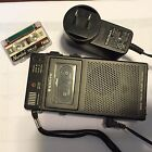 Mini Talk Book Dictaphone by Sanyo with Charger Antique Needs Repair FREE SHIPPI