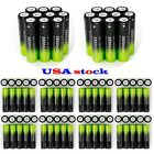 100X 3.7v 18650 Rechargeable Li-ion Batteries Batteries+Battery Charger New Y