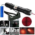 10Miles Powerful Red Laser Pointer Pen 5mw 650nm Pet Toy Laser Pen+Batt+Charger