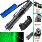 10Mile 5mw 532nm Green Laser Pointer Pen Star Cap Powerful Laser+Battery+Charger