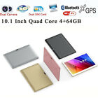 10.1'' Tablet PC Mic WIFI Android 5.1 Octa Core 4+64G 10.1 Inch 2 SIM 3G HD