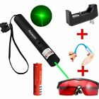10Mile Military Green Laser Pointer Pen 5mw 532nm Powerful Cat Toy Laser+4 Gift