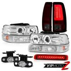 99-02 Silverado LTZ Tail Lamps High Stop Lamp Headlamps Parking Light Foglamps