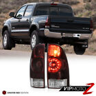 2005-2015 Toyota Tacoma LED OE Style Smoke Tinted Replacement Tail Lights LH+RH