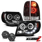 "05-11 Tacoma TRD Offroad Tail lamps black headlamps smokey foglights ""Brightest"""