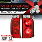 BRAND NEW !CREE LED REVERSE! Pair Red Tail Lights For 2006-2010 Jeep Commander