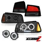 2006 2007 2008 Charger RT Foglights taillights corner lamp smoked headlamps SMD