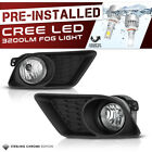 [Built-In LED] Clear Fog Lights Bumper Lamps Wiring L+R 2011-2014 Dodge Charger