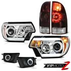12-15 Toyota Tacoma PreRunner Foglamps headlamps taillights Projector Tron Tube