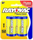 """Heavy Duty """"D"""" Batteries, 2-Pk."""