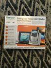 NEW Oregon Scientific Emergency Public Alert Radio with Weather Station