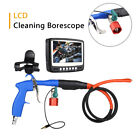 4.3 inch HD LCD Waterproof Tube Camera Cleaning Borescope CCD DVR 50mm Blowing