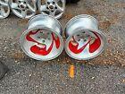 GM 15x10 rat rod gasser truck 4x4 s10 aluminium wheels rims vintage slots