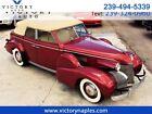 1939 Cadillac Series 61 Convertible Sedan 1939 Cadillac Series 61 Convertible Sedan 40883 Miles Red  V-8 3-Speed