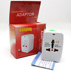 All-in-One Travel Adapter Plug USA/UK/CN/AU/EU Wall AC Power Converter i