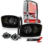 2006 Ram Turbodiesel Headlamps Fog Lamps Rosso Red Roof Brake Light Taillights