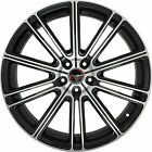 4 GWG Wheels 22 inch Black Machined FLOW Rims fits KIA SORENTO 2009 - 2018