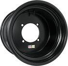 Douglas Wheel Spun Wheel 12x10 - 4B+6N Offset - 4/156 - Black 014-749