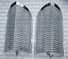 1963 1964 Buick Riviera Chrome Parking Lamp Grills. OEM #5954200. Matched Pair