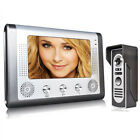 "7"" TFT/LCD Wired Video Door Phone Doorbell Intercom Home Security Camera Monitor"