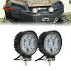 "2x 3"" LED FLUSH MOUNT LIGHT For Honda Fourtrax Rancher Foreman Pioneer XR 125 80"