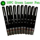 10PC Powerful Green Laser Pointer Pen 5mw 405nm High Power Laser Pointer Pen