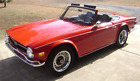 1971 Triumph TR-6 Conv tunning Exterior - Numbers Matching  - Low Miles - New Tires All Around