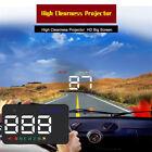 "Universal A5 3.5""Auto GPS HUD Car Head Up Display Speedometers Overspeed Warning"