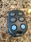 X-10 Keychain SlimFile Remote Control Model KR19A For Use w/X10 Remote Receiver