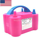 Double Hole HT-501 Balloon Pump Air Blower Balloon Inflator Pump for Party US