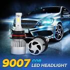 HB5 9007 Dual LED CREE 1080W 162000LM Headlight Conversion Bulbs 6500K Hi/Lo