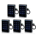 5* New WaterProof IP65-68 Touch Keypad RFID Card Reader for Door Access Control