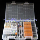 Big AAA AA C D 9V Battery Storage box Holder Case Home Organization Housekeeping