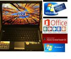 MSI A4000, Fast Intel Dual Core laptop. Windows 7 Factory restored. Webcam Ready